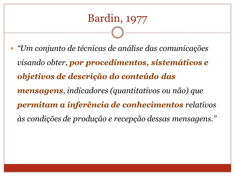 Bardin, 1977