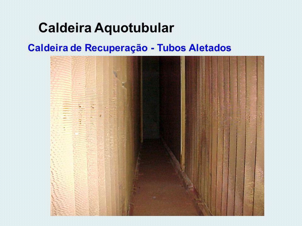 Caldeira Aquotubular Caldeira de Recuperação - Tubos Aletados