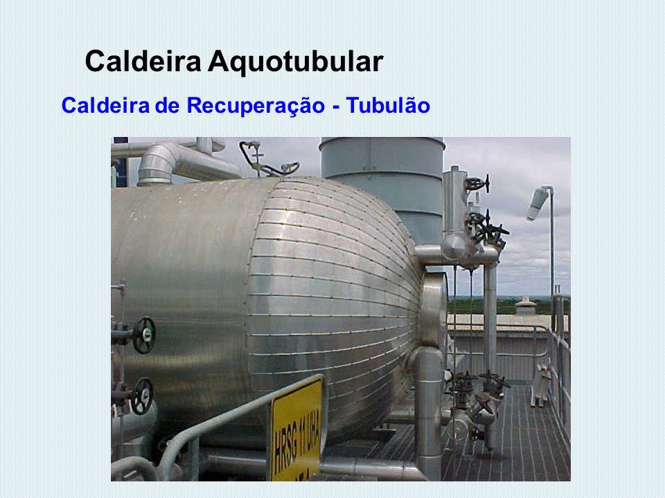 Caldeira Aquotubular Caldeira de Recuperação - Tubulão