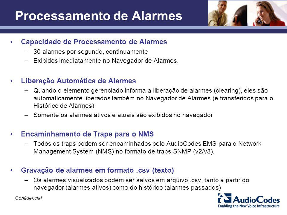 Processamento de Alarmes