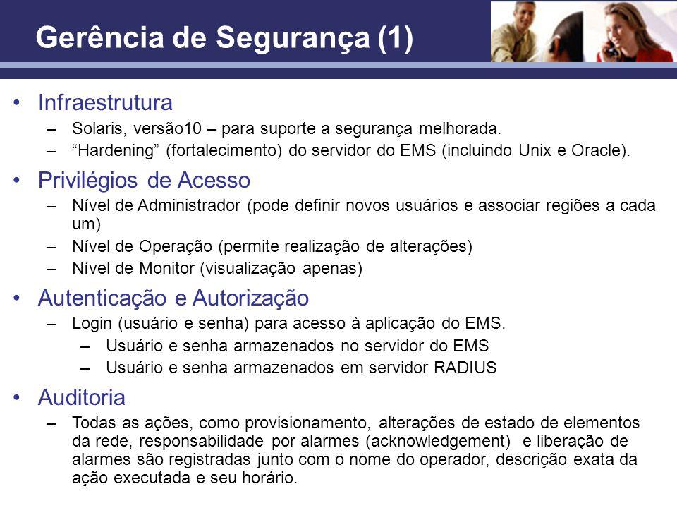 Gerência de Segurança (1)