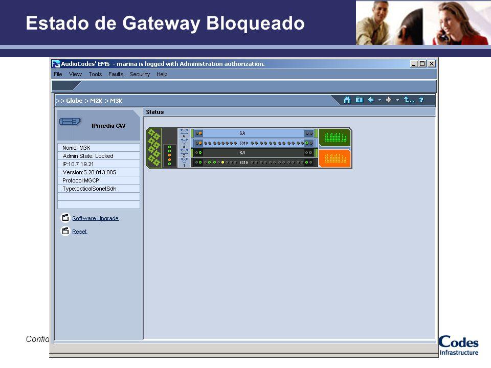 Estado de Gateway Bloqueado