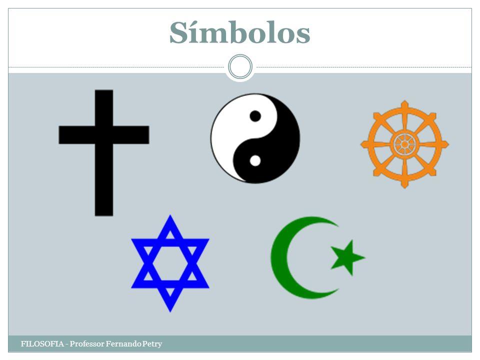 Símbolos FILOSOFIA - Professor Fernando Petry