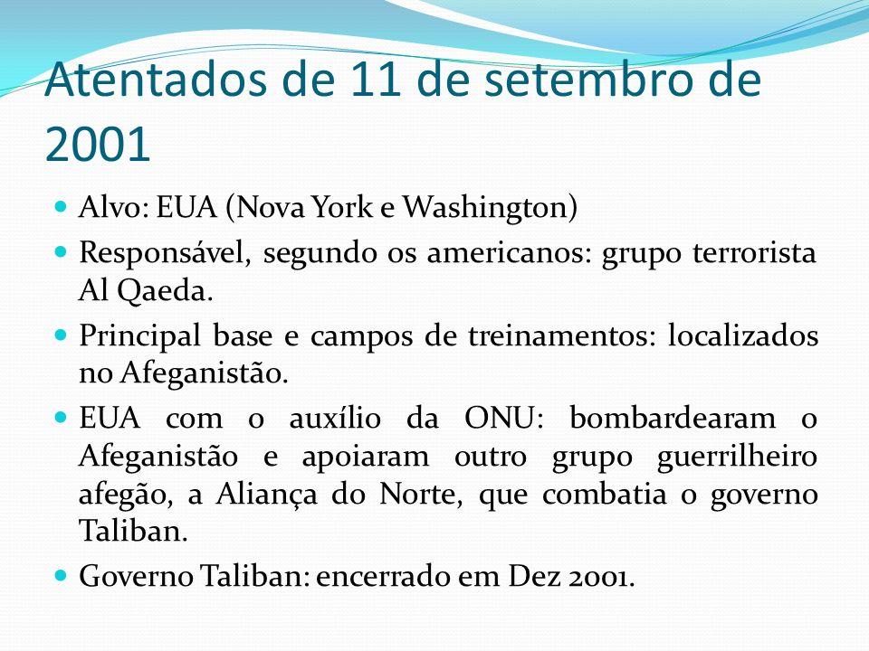 Atentados de 11 de setembro de 2001