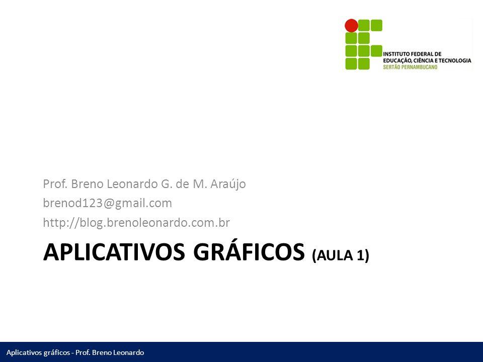 Aplicativos gráficos (Aula 1)