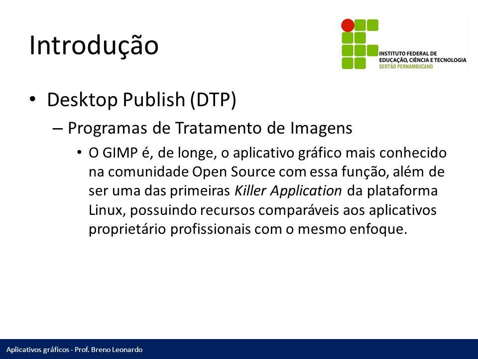 Introdução Desktop Publish (DTP) Programas de Tratamento de Imagens