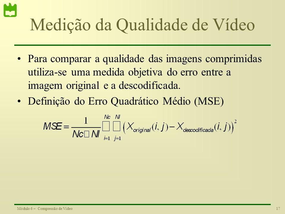 Medição da Qualidade de Vídeo