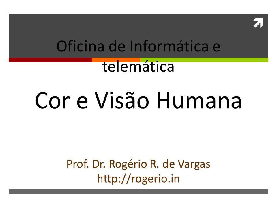 Cor e Visão Humana Oficina de Informática e telemática