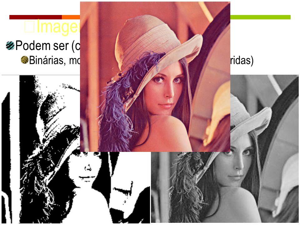 Imagens Digitais Podem ser (cont.):