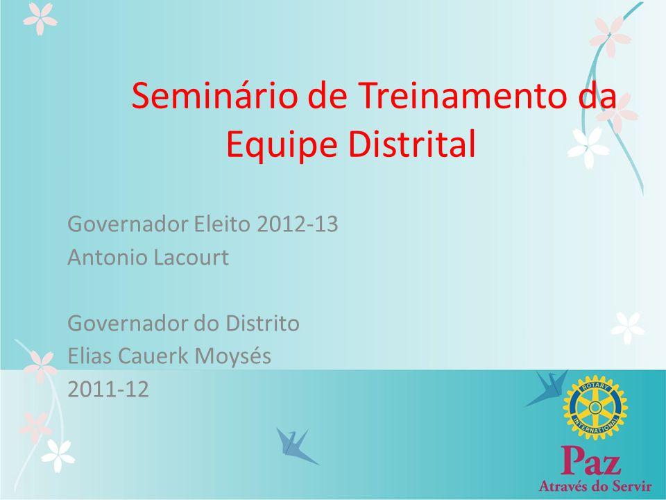 Seminário de Treinamento da Equipe Distrital
