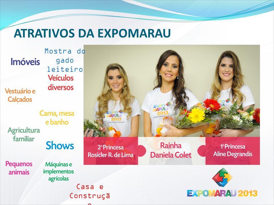 ATRATIVOS DA EXPOMARAU