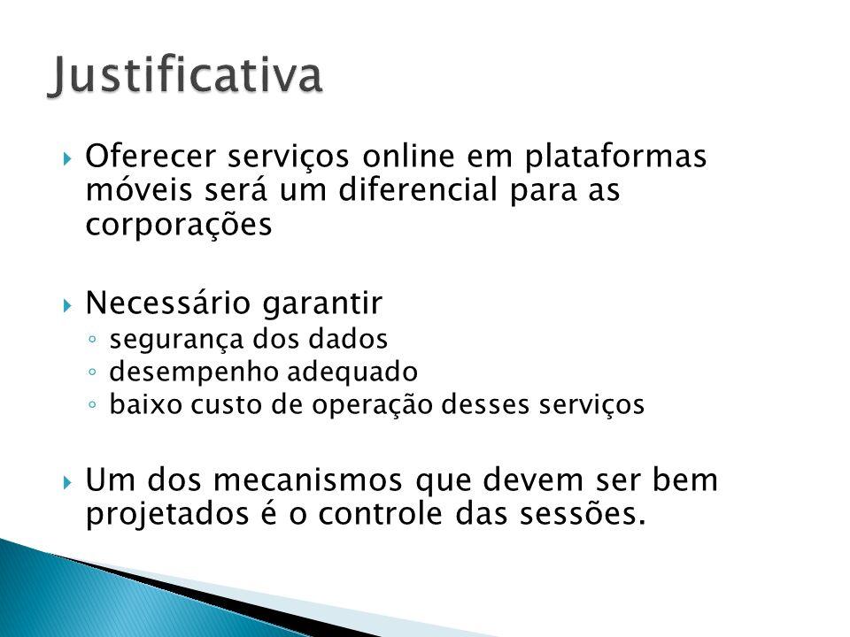 Justificativa Oferecer serviços online em plataformas móveis será um diferencial para as corporações.