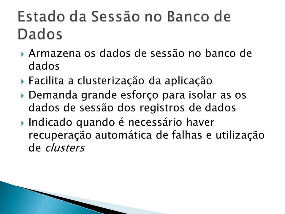 Estado da Sessão no Banco de Dados