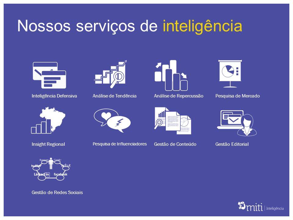 Nossos serviços de inteligência