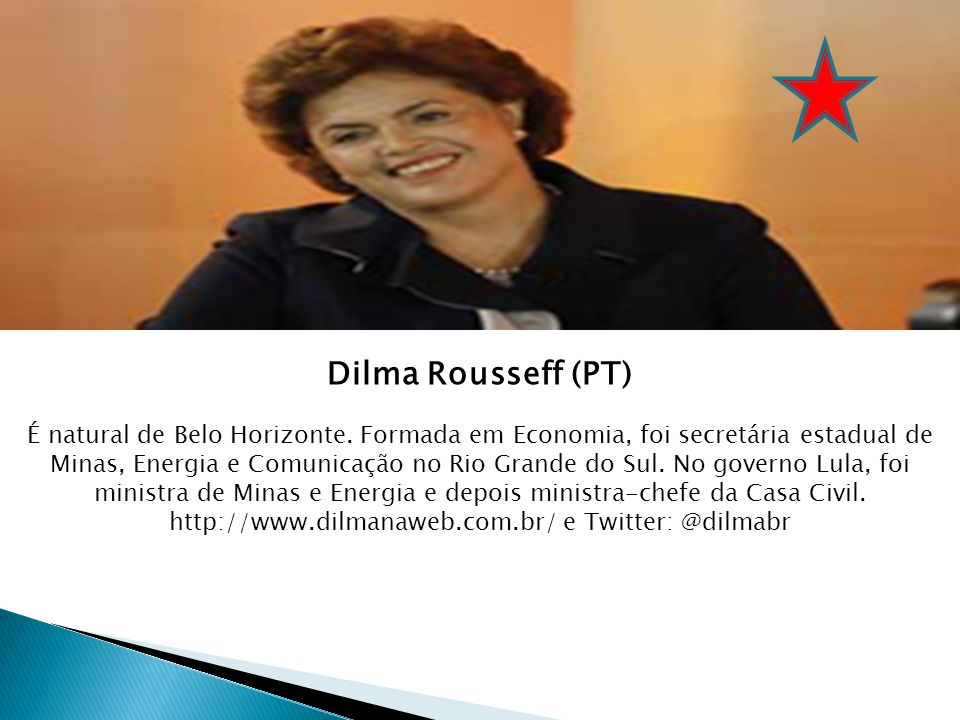 http://www.dilmanaweb.com.br/ e Twitter: @dilmabr