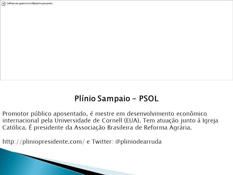Plínio Sampaio - PSOL