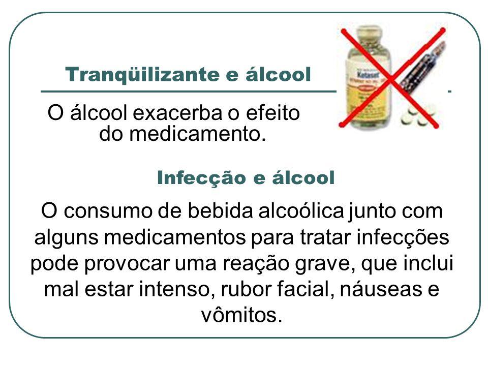 Tranqüilizante e álcool