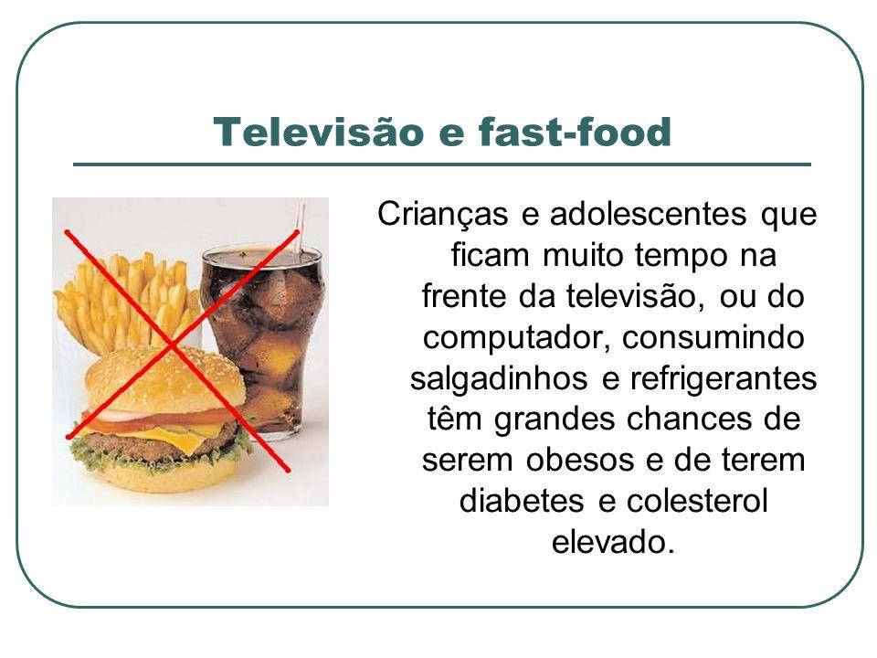 Televisão e fast-food
