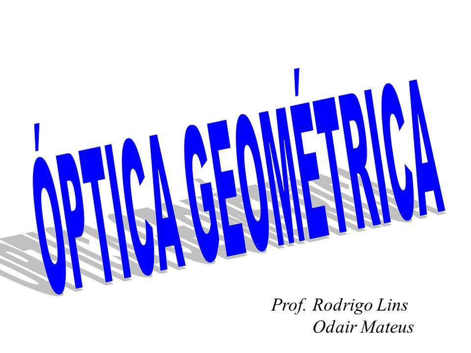 ÓPTICA GEOMÉTRICA Prof. Rodrigo Lins Odair Mateus