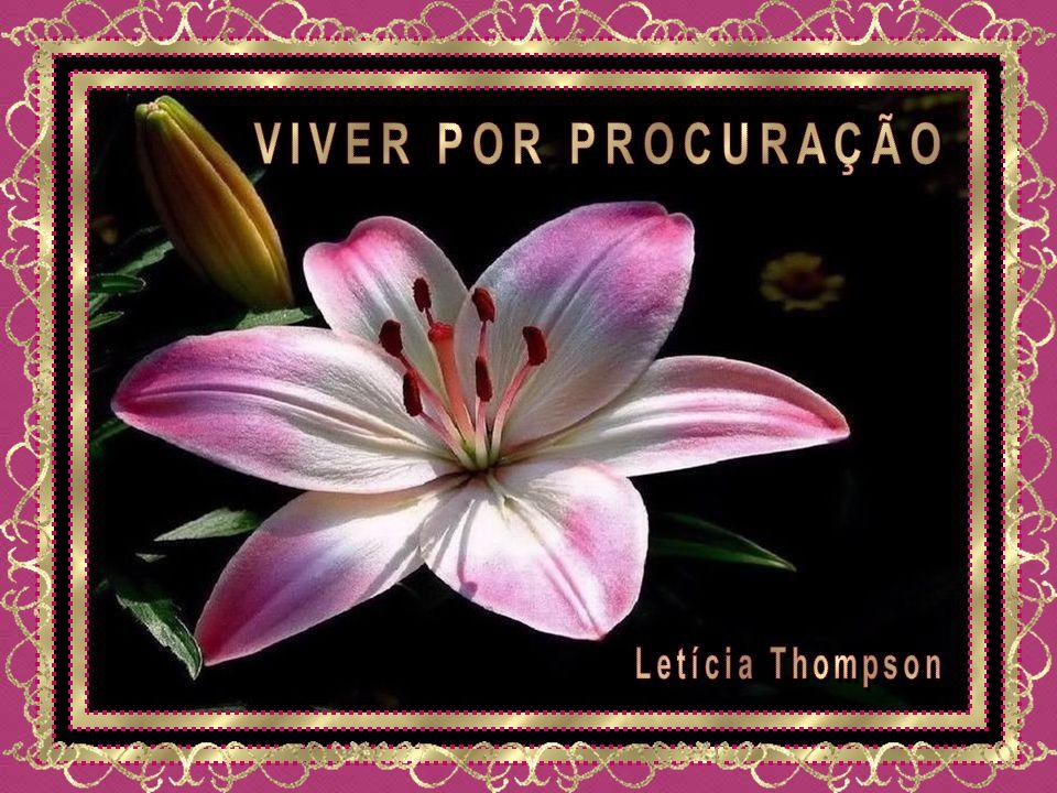 VIVER POR PROCURAÇÃO Letícia Thompson