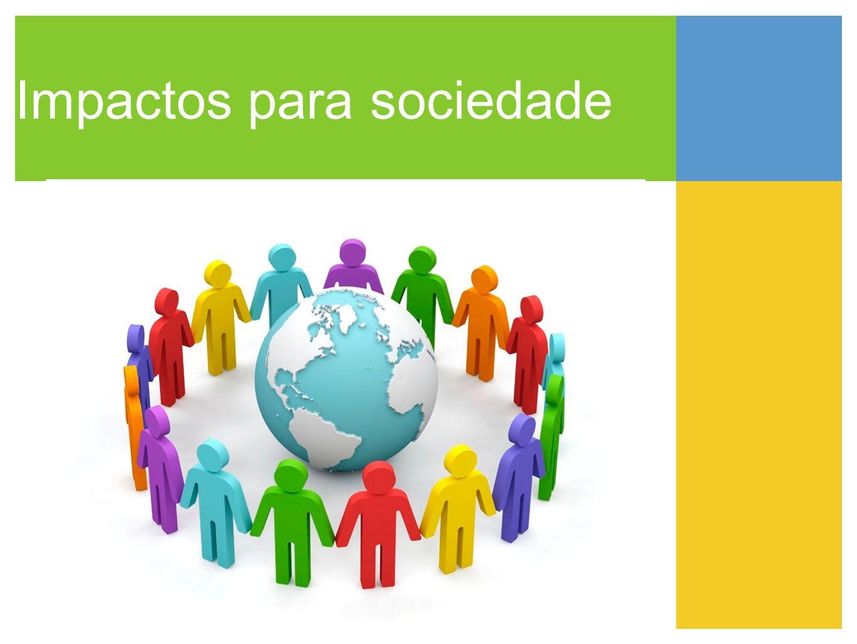 Impactos para sociedade
