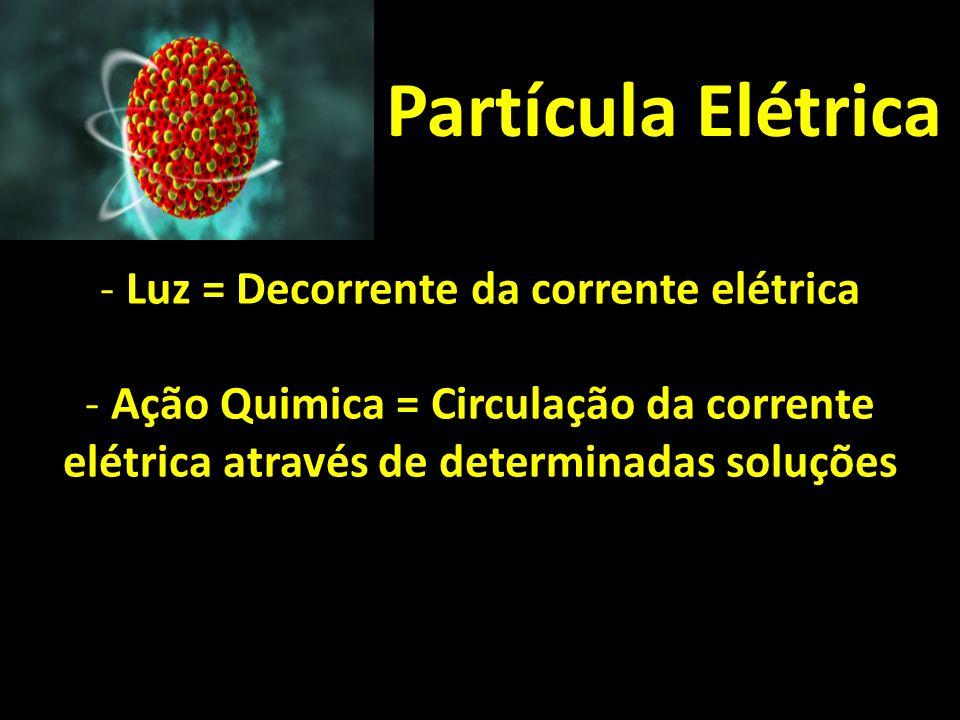 Luz = Decorrente da corrente elétrica