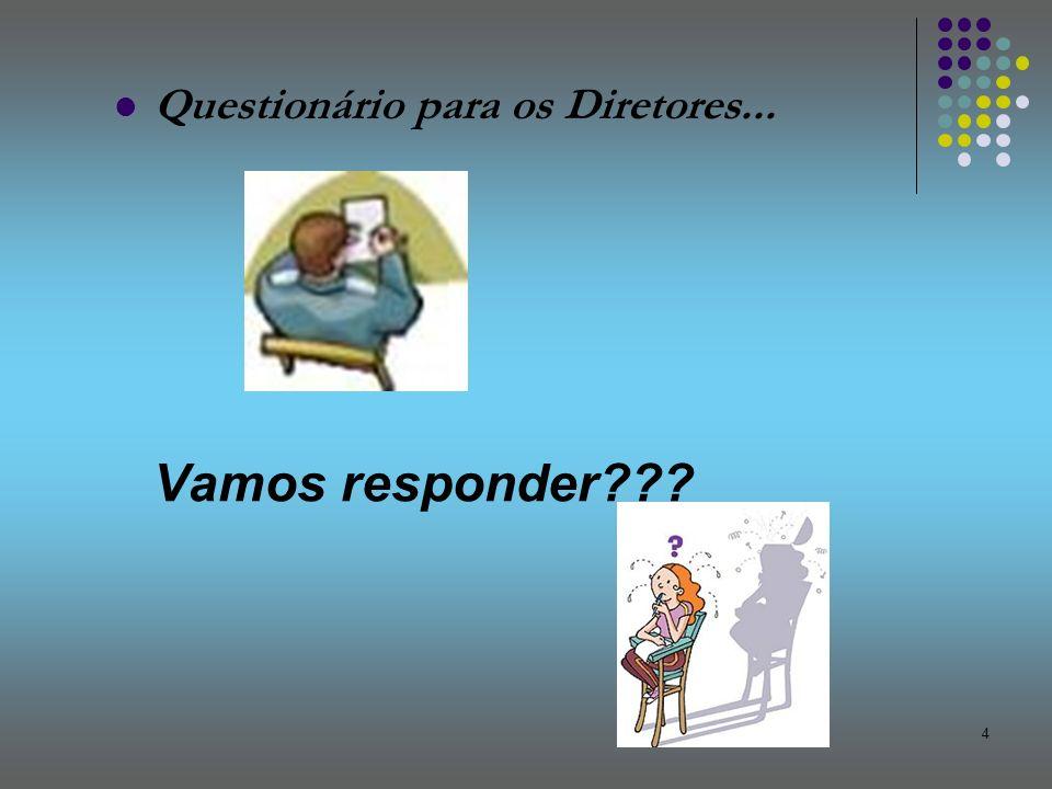 Questionário para os Diretores...