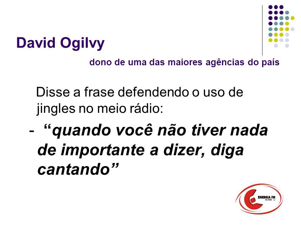 David Ogilvy dono de uma das maiores agências do país