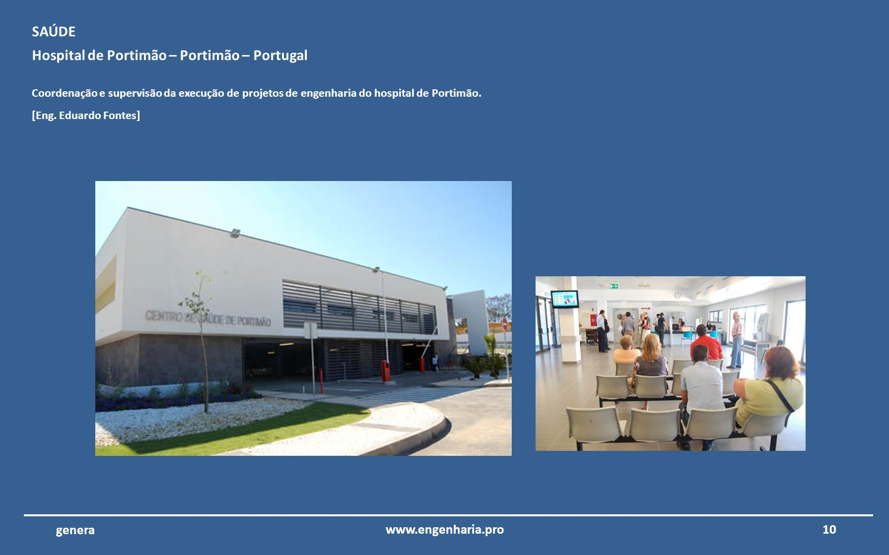 Hospital de Portimão – Portimão – Portugal
