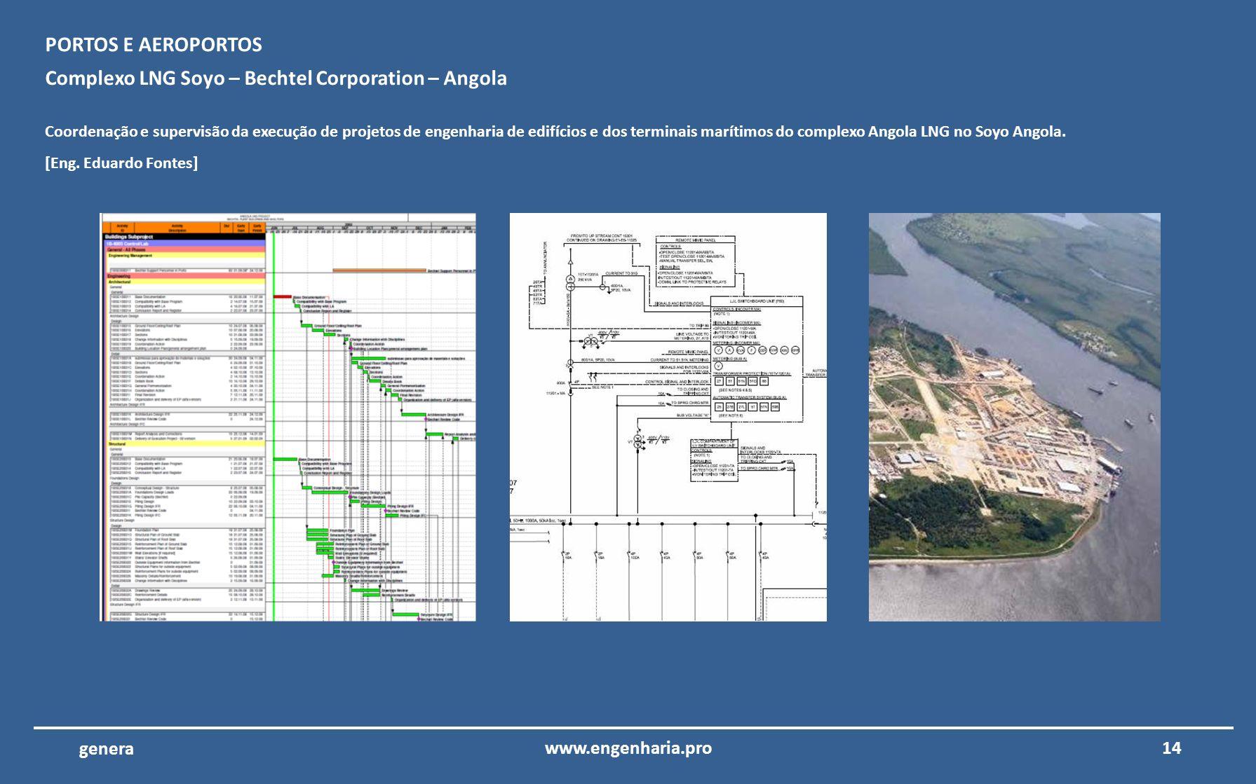 Complexo LNG Soyo – Bechtel Corporation – Angola