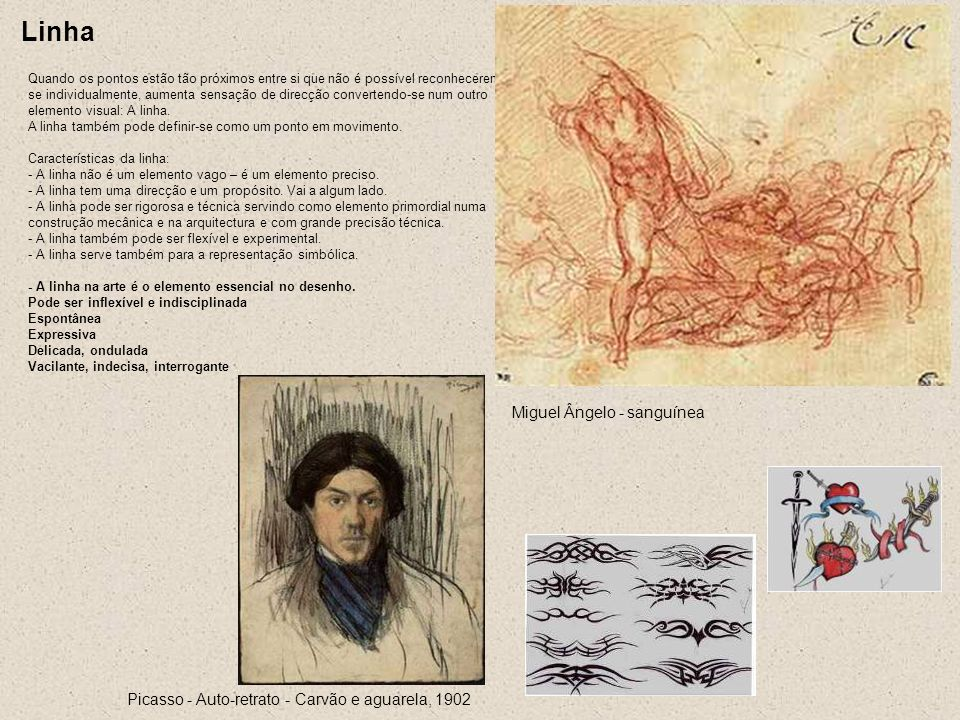 Linha Miguel Ângelo - sanguínea