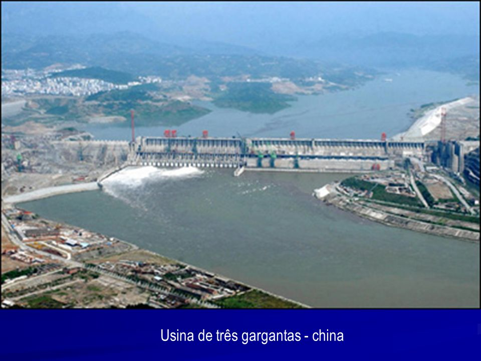 Usina de três gargantas - china