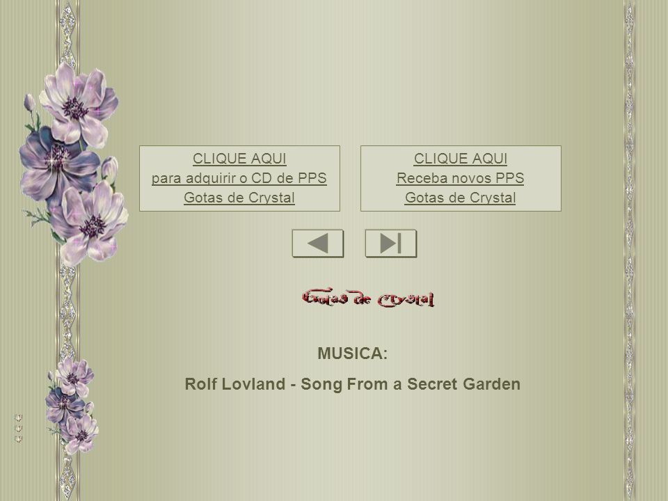 Rolf Lovland - Song From a Secret Garden