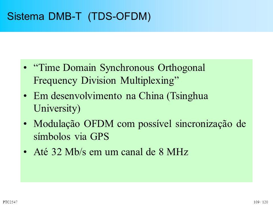 Sistema DMB-T (TDS-OFDM)