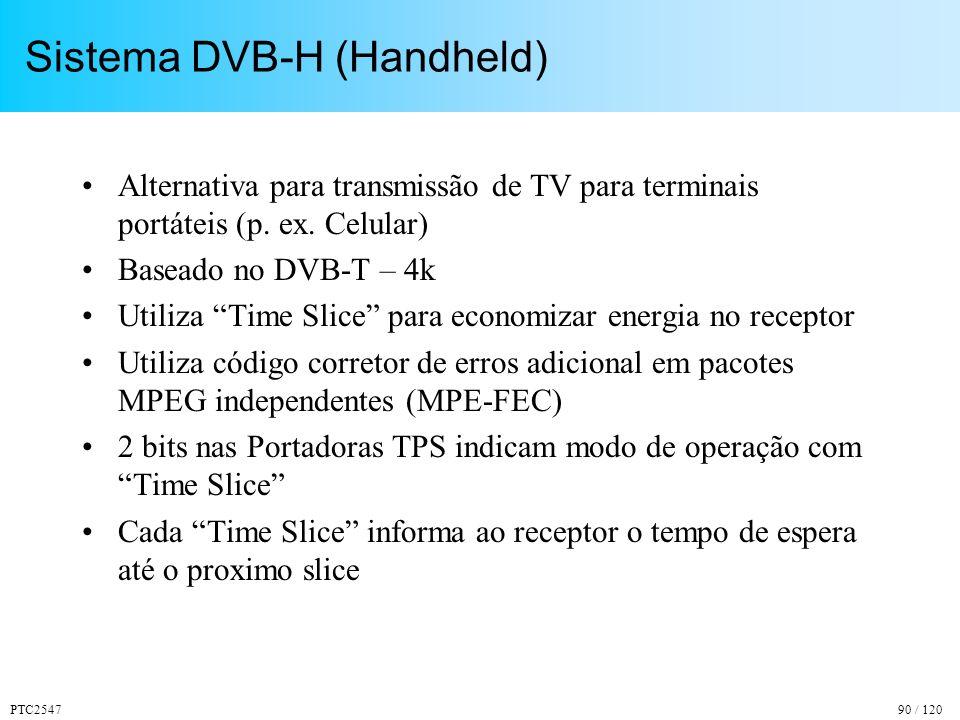 Sistema DVB-H (Handheld)