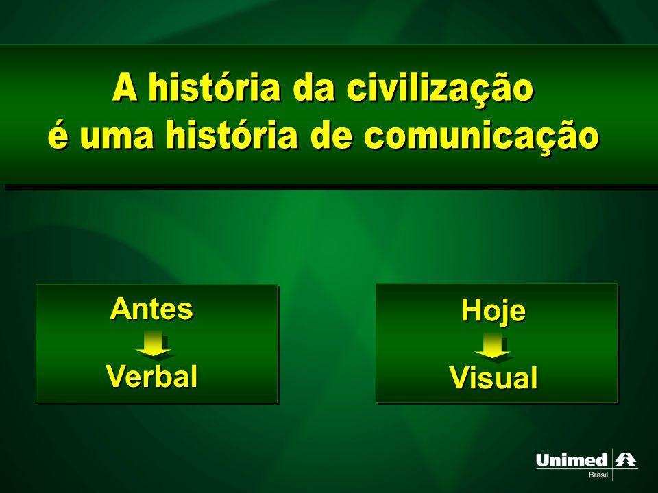 A história da civilização é uma história de comunicação