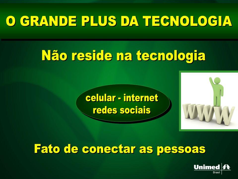 O GRANDE PLUS DA TECNOLOGIA