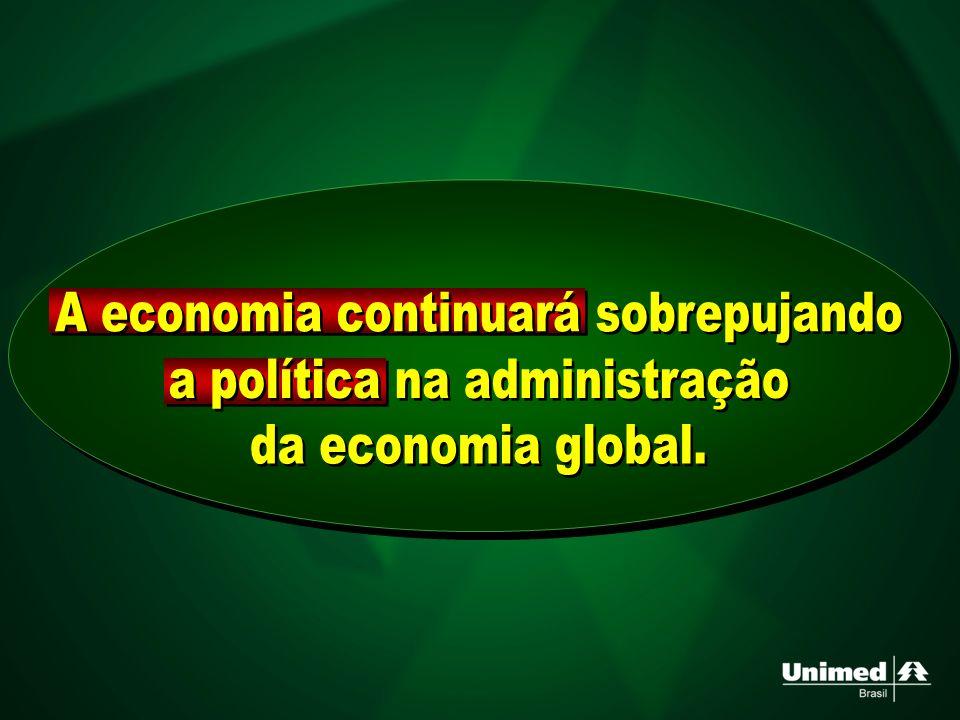 A economia continuará sobrepujando a política na administração