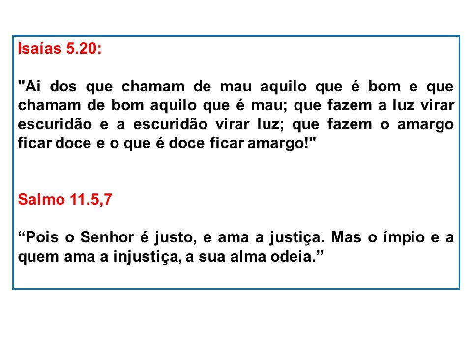 Isaías 5.20: