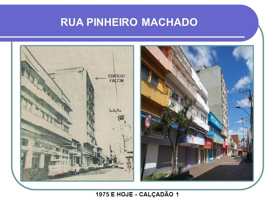 RUA PINHEIRO MACHADO EDIFÍCIO FACCIN.