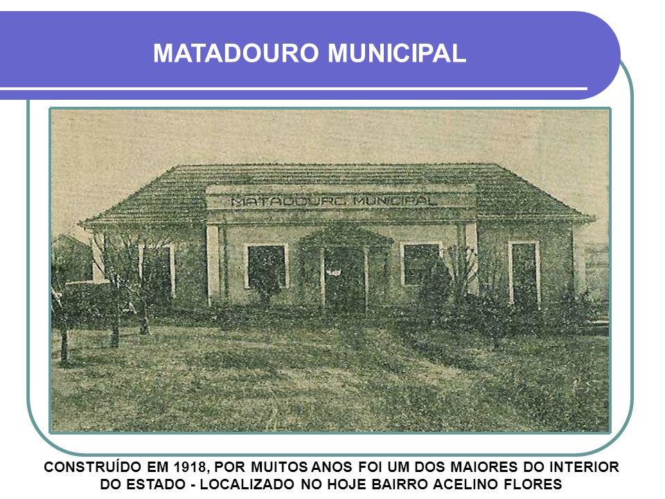 MATADOURO MUNICIPAL
