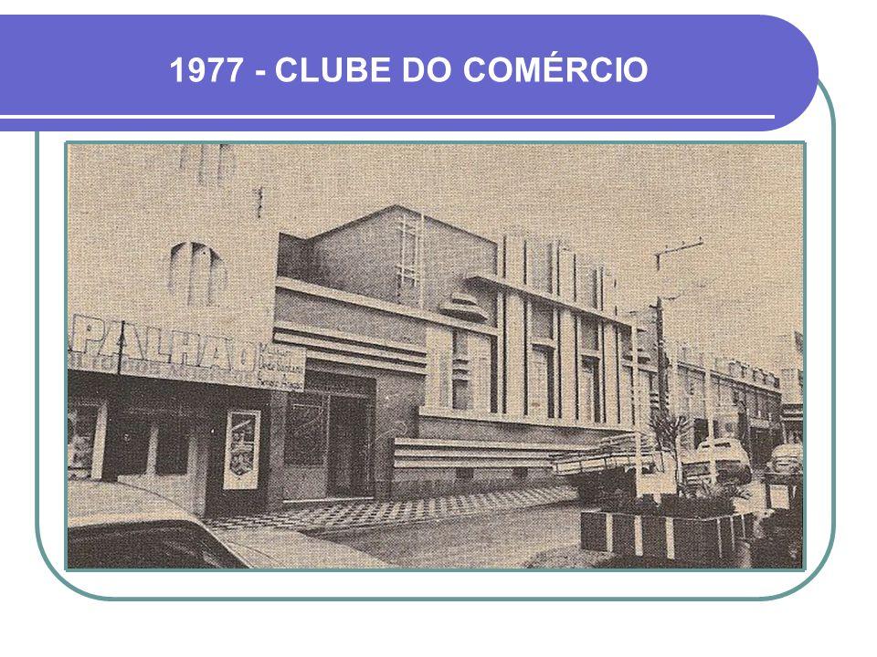 1977 - CLUBE DO COMÉRCIO