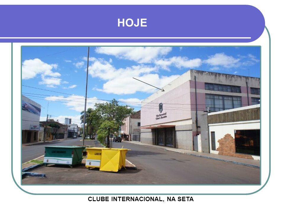 CLUBE INTERNACIONAL, NA SETA