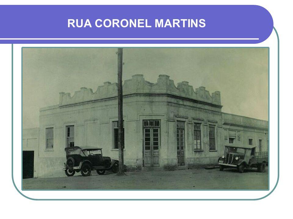 RUA CORONEL MARTINS