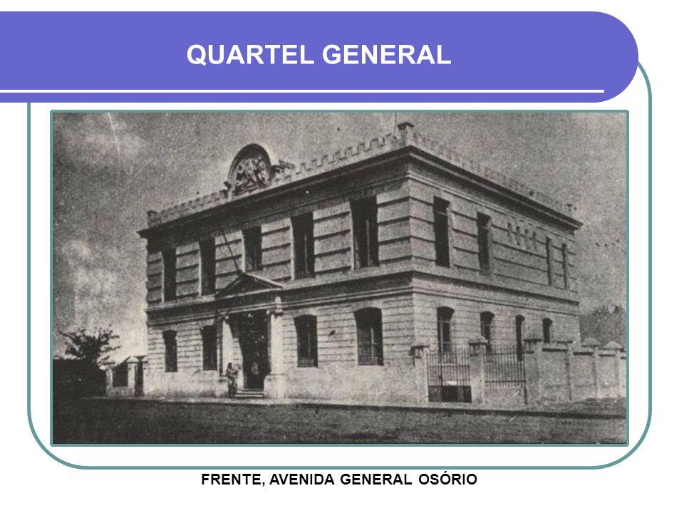 FRENTE, AVENIDA GENERAL OSÓRIO