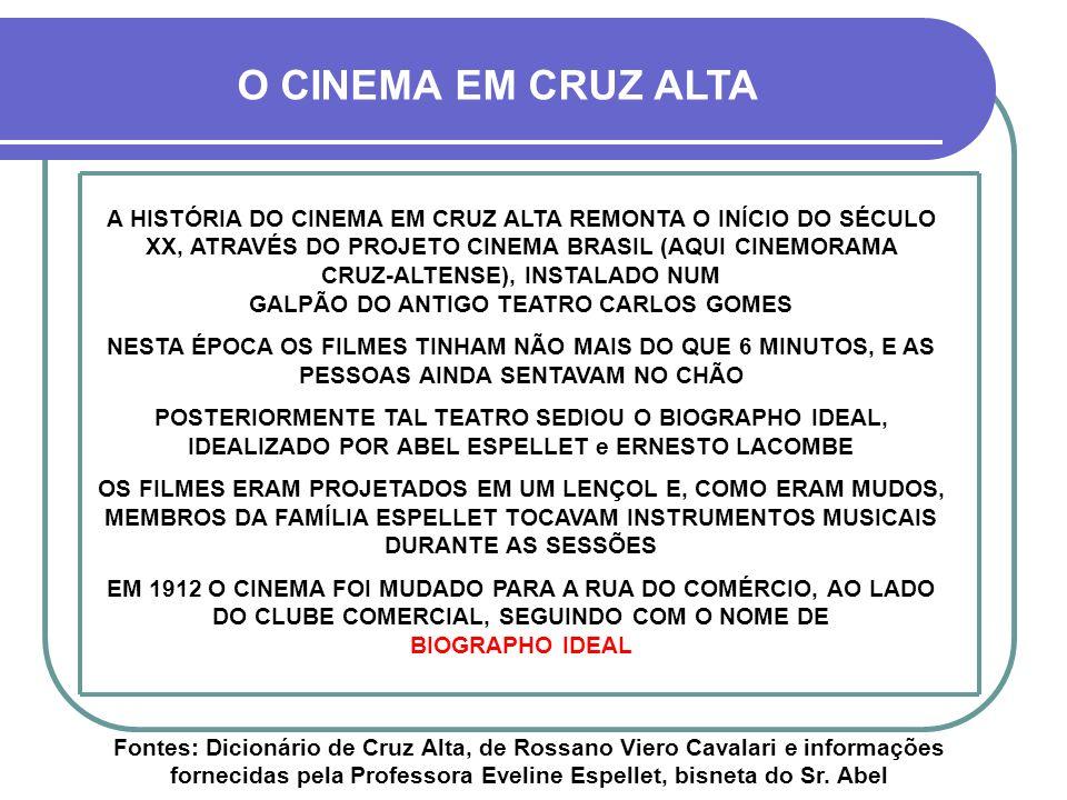 O CINEMA EM CRUZ ALTA