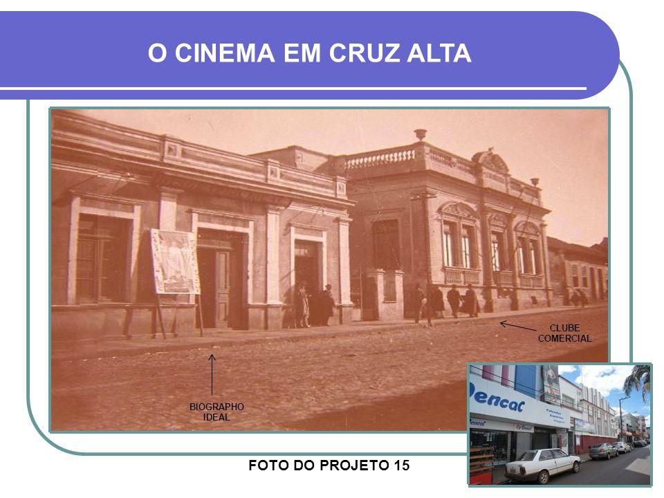 O CINEMA EM CRUZ ALTA FOTO DO PROJETO 15 CLUBE COMERCIAL