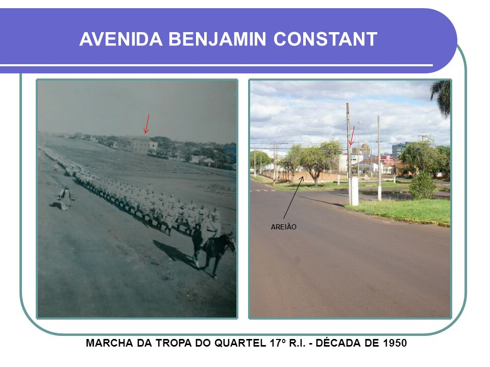 AVENIDA BENJAMIN CONSTANT