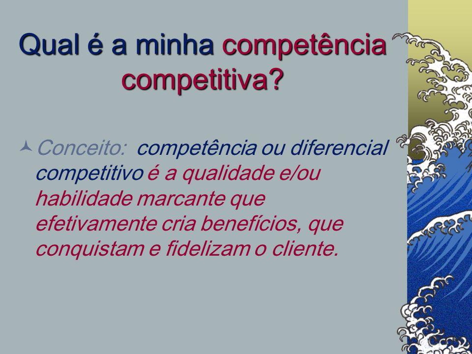 Qual é a minha competência competitiva