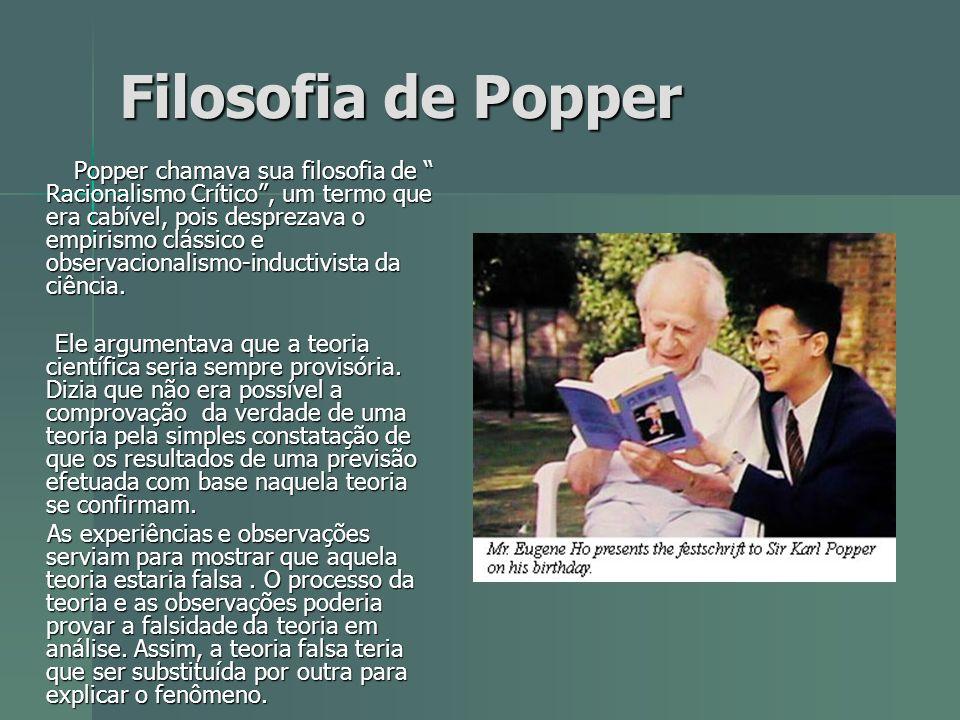 Filosofia de Popper